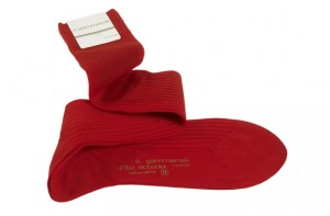 Cardinal red Papal socks.